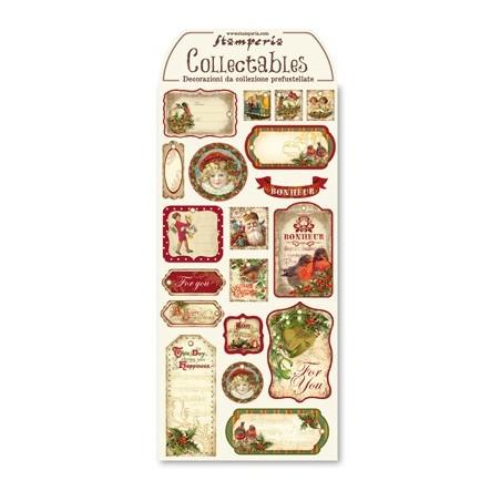 Arkusz etykiet świątecznych [DFTG002]