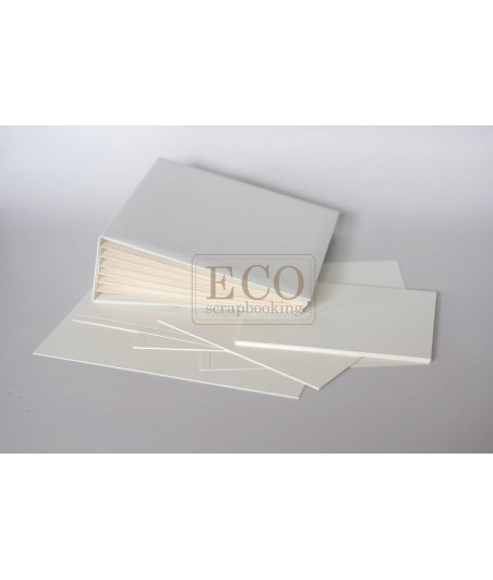 Baza albumowa do scrapbookingu, Bazyl krem 20x20 dodatkowe karty