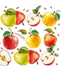 Serwetka do decoupage - Słodkie jabłka