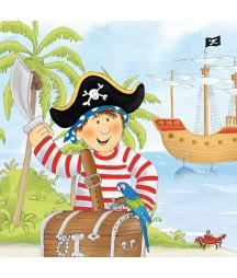 Serwetka do decoupage - Pirat 4