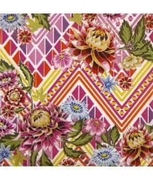 Serwetka do decoupage - Meksykańskie kwiaty