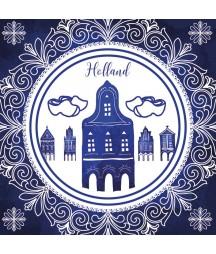 Serwetka do decoupage - Holandia