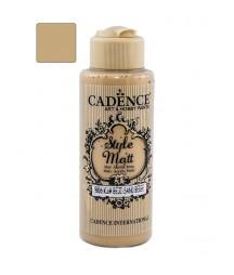 Matowa farba akrylowa Cadence Style Matt 120 ml, piaskowy beż