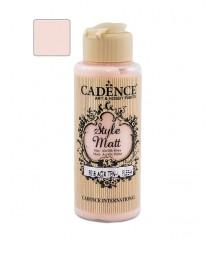 Matowa farba akrylowa Cadence Style Matt 120 ml, róż cielisty