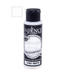 Farba hybrydowa Cadence, white - biała