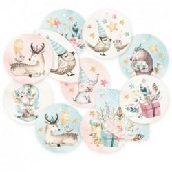 Zestaw tagów Cute & Co. 01...