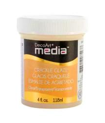 Lakier pękający DecoArt Crackle Glaze transparent, 118 ml DMM16