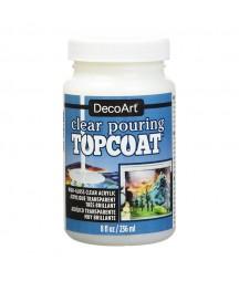 Lakier samopoziomujący o wysokim połysku DecoArt Clear Pouring Topcoat DS134