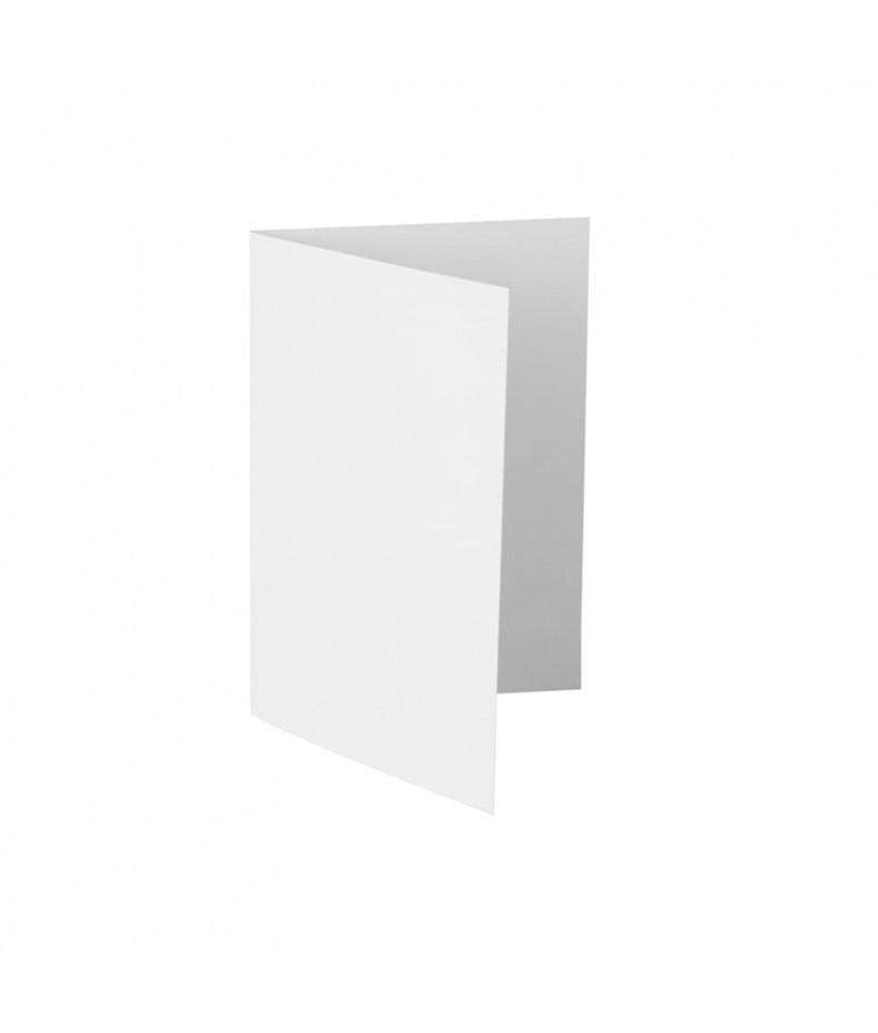 Baza do kartki C6 pozioma bigowana, biała