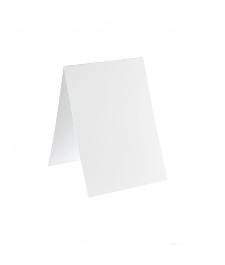 Baza do kartki C6 pionowa bigowana, biała
