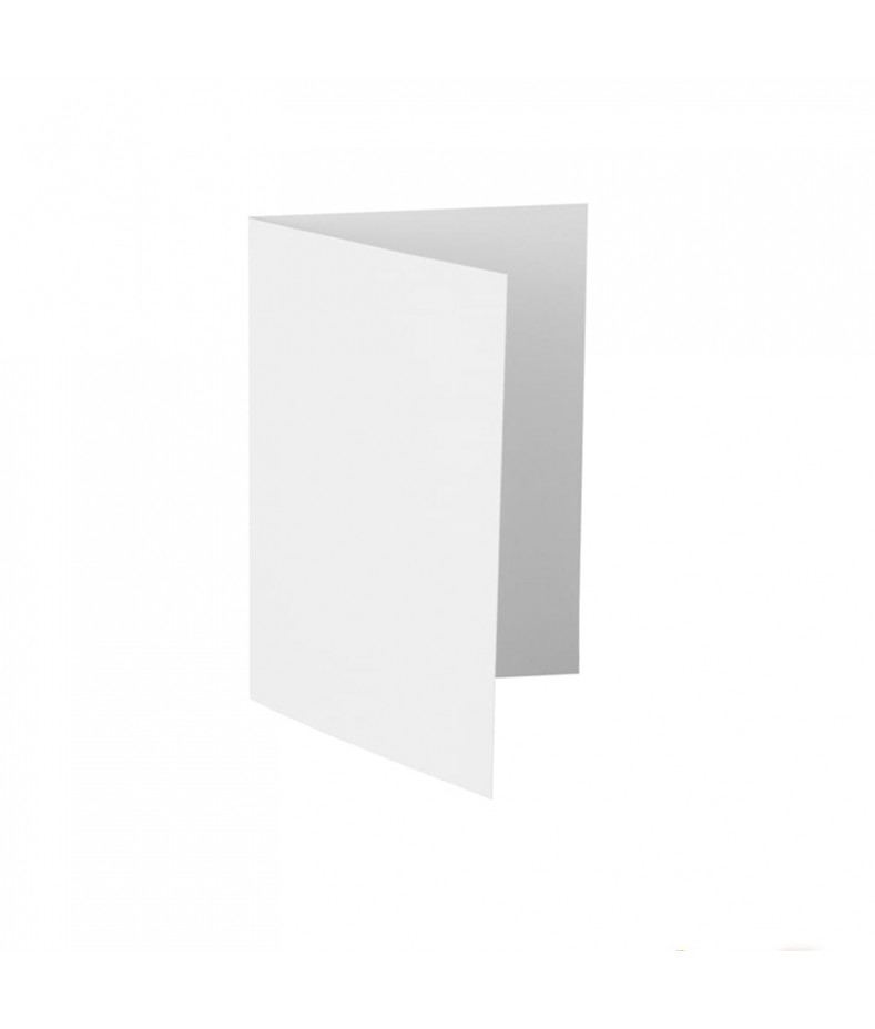 Baza do kartki A5 pozioma bigowana, biała