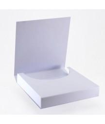 Baza do ozdabiania - czekoladownik mini biały kwadratowy 10x10 RzP