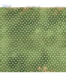 Papier do scrapbookingu 30x30 cm, Złote sny 02 Paper Heaven