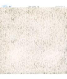 Papier do scrapbookingu 30x30 cm, Miłosne zapiski 02 Paper Heaven