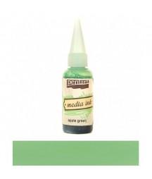 Tusz alkoholowy Pentart Media Ink - zieleń jabłka
