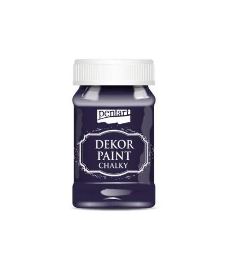 Farba kredowa Dekor Paint Chalky Pentart 38785 eggplant - bakłażan / fioletowa