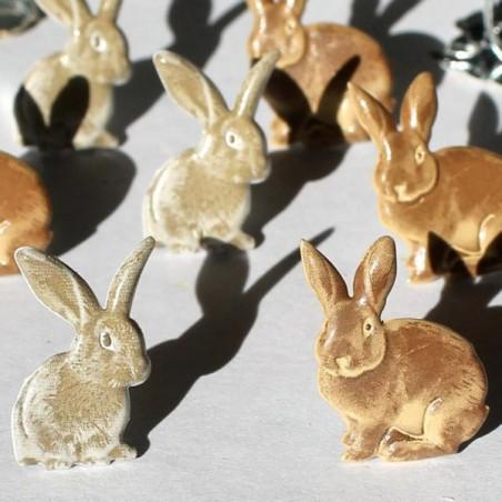 Zestaw ćwieków [QBRD 140A], Rabbits Brown