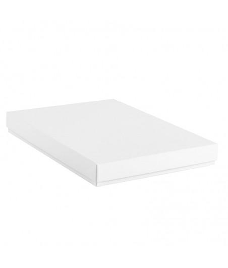 Pudełko pełne na kartkę A5 białe
