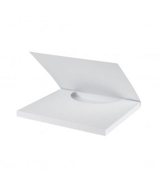 Baza do ozdabiania - czekoladownik biały duży 16.5x20 cm RzP