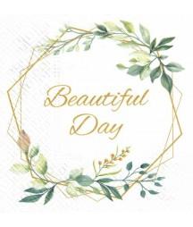 Serwetka do decoupage - Beautiful Day