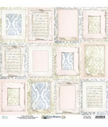 Papier do scrapbookingu 12x12, Written Memories 06 Mintay Papers
