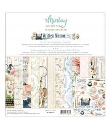 Zestaw papierów do scrapbookingu 30x30 Written Memories - Mintay Papers