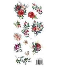 Świąteczna Girlanda - papier do scrapbookingu z dodatkami do wycinania