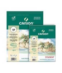 Blok rysunkowy - szkicownik Canson Student A5 150 g/m2, 30 arkuszy