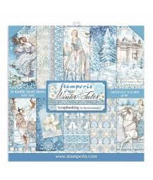 Papiery do scrapbookingu, Winter Tales SBBXS04 Stamperia - bloczek