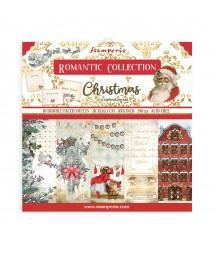 Bloczek świątecznych papierów do scrapbookingu Stamperia, Romantic Christmas 20x20