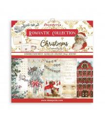 Bloczek świątecznych papierów do scrapbookingu Stamperia, Romantic Christmas 30x30