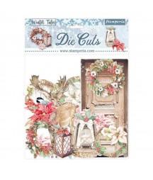 Die cutsy Stamperia, Winter Tales DFLDC42