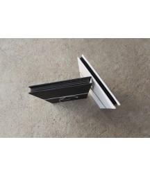 Baza albumowa do scrapbookingu harmonijka 135x135 Eco Scrap - okładka czarna i czarne karty