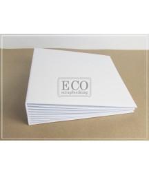 Baza albumowa do scrapbookingu, Bazyl biały 25x25