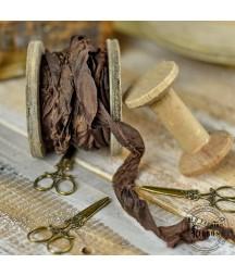 Wstążka Vintage Old Fashion czekolada