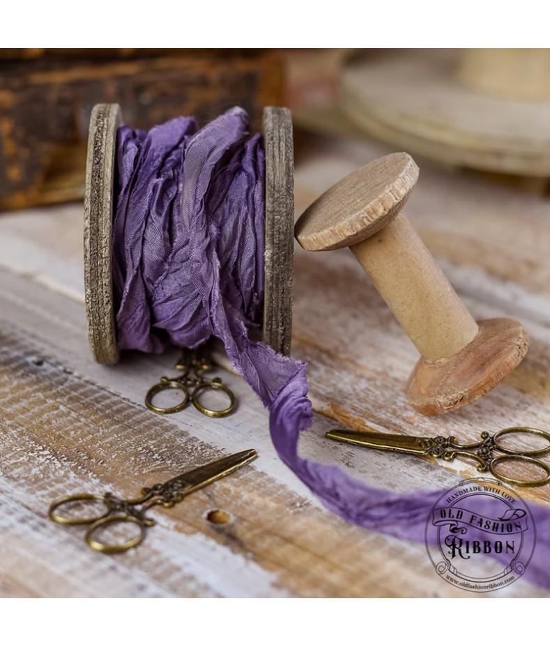 Wstążka Vintage Old Fashion fioletowa