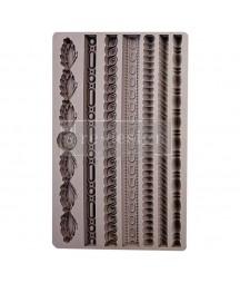Forma silikonowa do decoupage - Sznurki - Regal Trimmings  Prima Marketing 636340