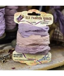 Wstążka lniana Old Fashion mix 1, 3x120 cm