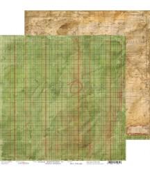 Papier do scrapbookingu 30x30 Craft O'Clock, Szkolne przygody 04