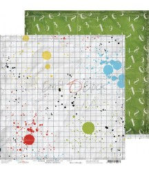 Papier do scrapbookingu 30x30 Craft O'Clock, Szkolne przygody 01