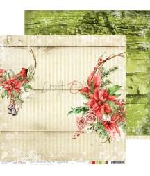 Papier do scrapbookingu 30x30 Craft O'Clock, Świąteczny czas 06