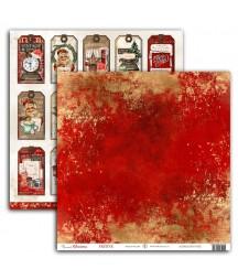 Papier do scrapbookingu UHK Gallery, Art Journal Christmas - Festive