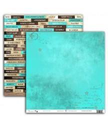 Papier do scrapbookingu UHK Gallery, Art Journal 2 - Beau-Tea-Ful