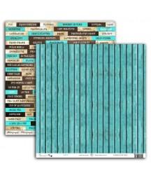 Papier do scrapbookingu UHK Gallery, Art Journal 2 - Focus