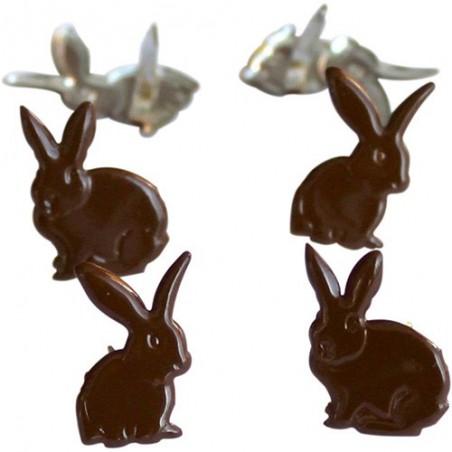 Zestaw ćwieków Eyelet Outlet, Chocolate Bunny