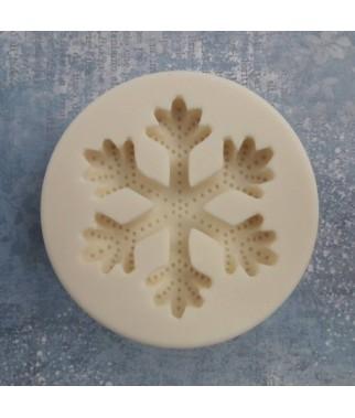 Forma silikonowa do decoupage - Śnieżynka duża