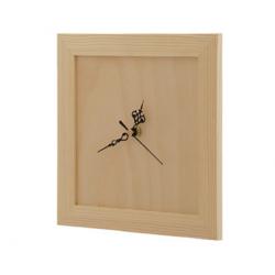 Zegar kwadratowy w ramce (W5)