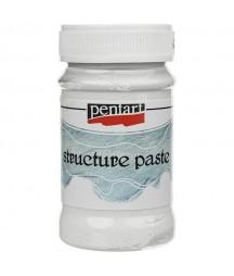 Pasta strukturalna biała Pentart 100 ml