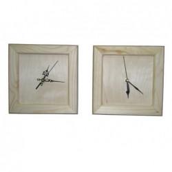 Zegar drewniany w ramce...