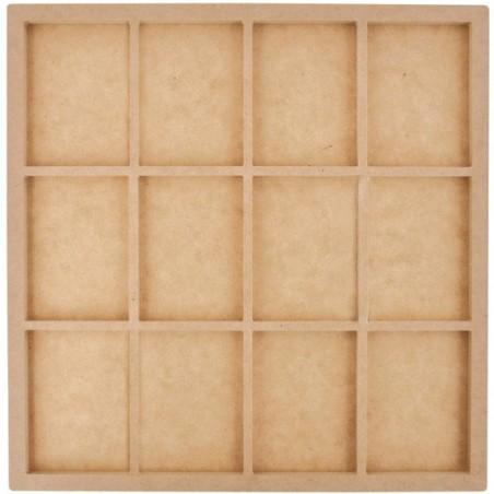 Shadow box MDF, Beyond The Page Swap Card Photo Display [SB2118] - WYPRZEDAŻ